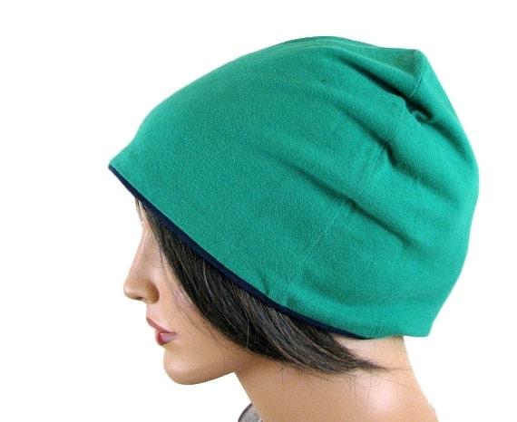 GREEN BEANIE HAT - Slouchy Hat - Green Beanie - Hipster Beanie - Slouchy Beanie - Oversized Hat - Womens Slouchy Beanie - Mens Beanie