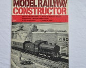 Model Railway Constructor, Dec 1969 Edition, Vintage Magazine, British Trains, UK, 1960s, Model Trains, Red, Advertising, Pictures, Set-Ups