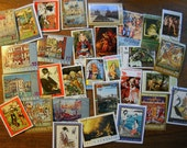 30 Worldwide FINE ART Paintings Postage Stamps for paper crafting collecting collage cards scrapbooking scrapbooks stamp collecting 12d