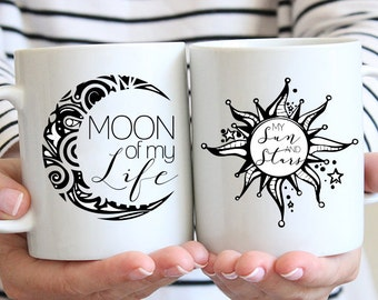 Moon of My Life, My Sun and Stars | Game of Thrones | Couple/Lovers | Marriage Coffee Mug