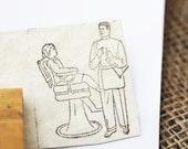 Vintage DENTIST Rubber Stamp