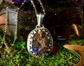 Shape Shifter- Tribal Boulder Opal Necklace
