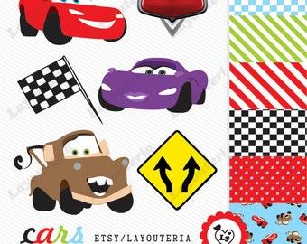 disney cars clipart etsy