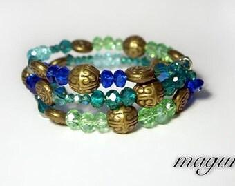 Bracelet (Memory Wire) - Ocean Ornaments
