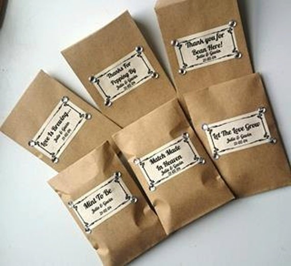 Wedding Gift Quirky : Personalised Wedding Favours Rustic Quirky Simple Gifts