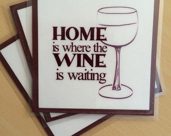 Wine, Wine Magnets, Wine Sign, Fridge Magnets, Refrigerator Magnet, Quote Magnets, Wine Quotes, Kitchen Decor, Wine Gifts