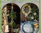 MACRAME For All SEASONS 47 Project Patterns - Door Curtain, Pot Hangers, Christmas Decor, Wall Hangings, Jewelry, Purses, Household Items