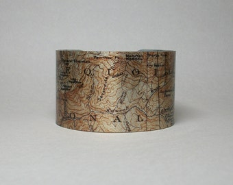 Sequoia National Park Kings Canyon Cuff Bracelet California Giant Forest Big Trees Hiking Gift for Men or Women