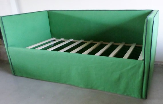 Custom Upholstered Daybed With Back- Design Your Own in ANY Fabric