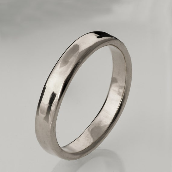 simple platinum wedding band platinum ring platinum
