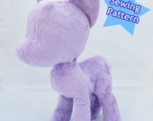 Instant Download Pony Plush Pattern