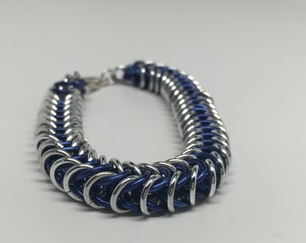 Chunky Metal Chainmaille Bracelet