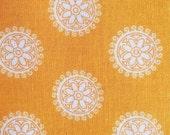 Madhuri | Orange Medallion Flower | Riley Blake Designs | 1/4 yard