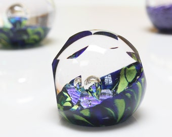 Odyssey, hand blown and carved paperweight