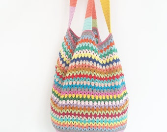 Crochet Beach Bag - PDF Crochet Pattern