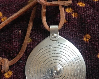 Berber Spiral of Life Amulet Pendant from Morocco