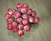 20 Natural Dry Roses - Natural Color - Roses for Weddings-Luck-Love-Romance and all other Matters of the Heart - Pink Roses - Dried Flowers
