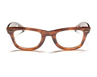 vintage 60s authentic Ray Ban wayfarer glasses 5024 Bausch Lomb tortoiseshell frames 1960 eyewear eyeglasses L2053 YOAS