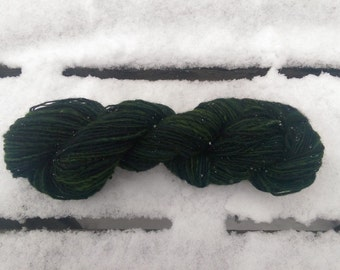 "Colorway ""Spruce Creek"" Handspun Merino Worsted Weight Yarn"