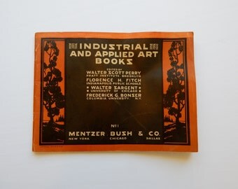 Art Instruction Book - Industrial and Applied Art Books No 1 from 1924