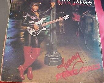 Rick James Street Songs G8-1002M1 deep groove dg  Gordy vintage vinyl pop record 1981