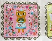 Whimsical Storybook Panel in Garden, Tara Lilly, Robert Kaufman Fabrics, 100% Cotton Fabric, AYT-15654-238 GARDEN