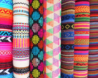 Yoga mat bag - STUNNING Mexican textiles - Includes pocket, beaded draw string - plenty of WIGGLE ROOM.