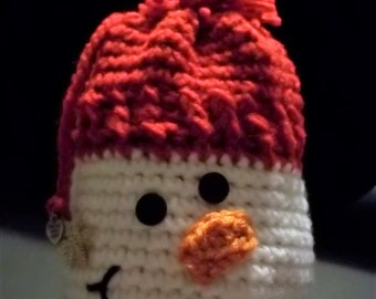 Snowman - Red - Goody Bag/Gift Bag/Stocking Stuffer/Gift Sack