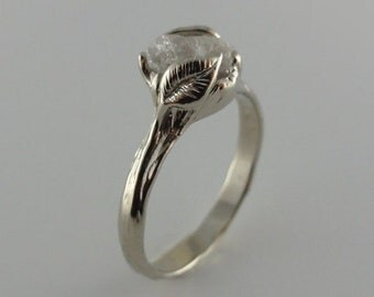 gold leaf u0026 twig diamond engagement ring made to order cruelty free uncut