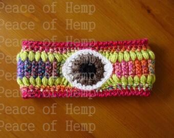 Third Eye Crochet Ear Warmer//Headband