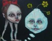 Original,  painting, art, odd, weird, dream