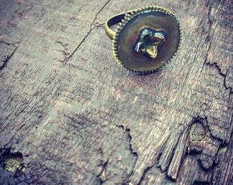 Brass Clock Gear Ring