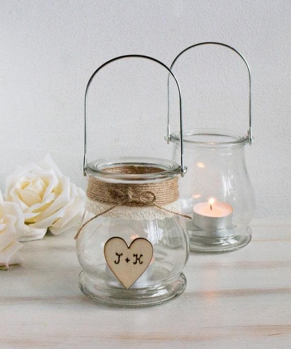 Wedding Mason Jar Rustic Wedding Decor Centerpiece Jars Glass