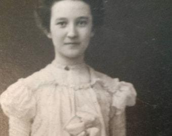 Antique Graduation Photo 1901