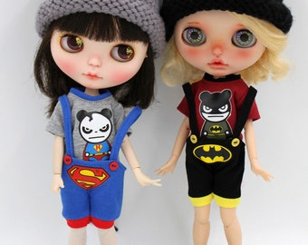 Girlish - Super Hero Outfit Set for Blythe doll - dress / outfit