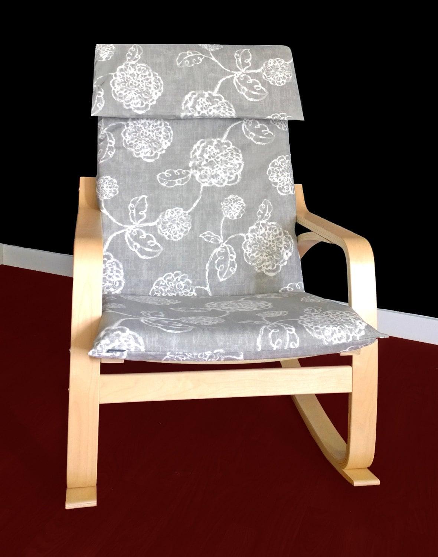 couverture de chaise de chez ikea poang magnolia fleur ikea. Black Bedroom Furniture Sets. Home Design Ideas
