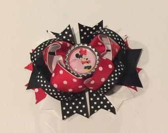 Minnie Mouse Hair Clip