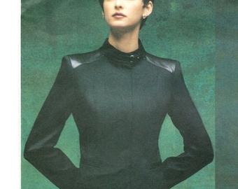 Montana military jacket & flat-front pants pattern -- Vogue Paris Original 2702