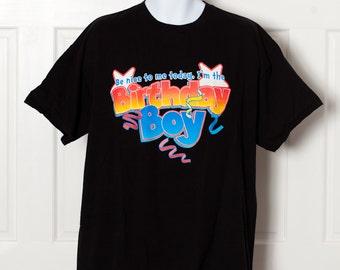 BIRTHDAY BOY Tshirt - XL