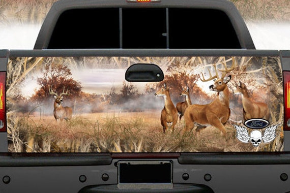 4x4 Truck Deer Camouflage Tailgate Wrap Buck Cowboy Camo Wraps