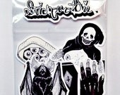 Hell hole sticker pack