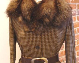 Vintage Fox Fur Collar
