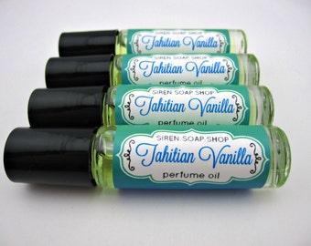 Tahitian Vanilla Perfume Oil, Perfume, Vanilla