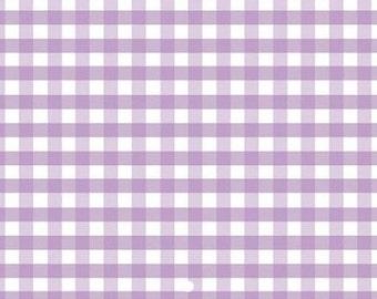Gingham Fabric, Lavender