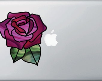 """CLR:MB - Rose Stained Glass -D1- Macbook 