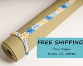 Yoga Mat Strap, SALE Yoga Mat Strap,  French Country, Slim Tote Handle - US Shipping Included Original HH Design