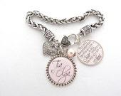SPANISH Aunt Quote Jewelry, Espanol Bracelet, Spanish Jewelry, Grandma Gift , Photo Bracelet, PERSPNA:IZED Nana Grammie, Mimi Grandmother
