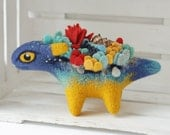 MADE TO ORDER - Little sea dragon, Needle felted Dragon toy, Fantasy dragon figurine