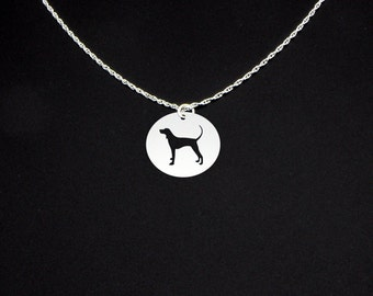 Redbone Coonhound Necklace - Redbone Coonhound Jewelry - Redbone Coonhound Gift