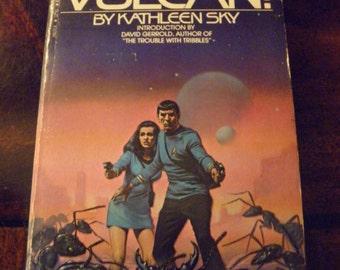 PB VULCAN Star Trek  Kathleen Sky 1984 3rd printing Paperback